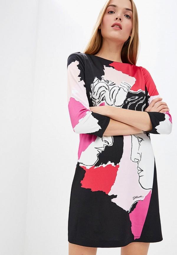 женское повседневные платье just cavalli, розовое