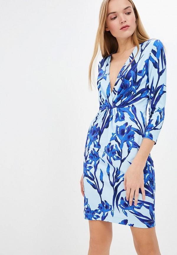Платье Just Cavalli Just Cavalli JU662EWDMOG3 цена 2017