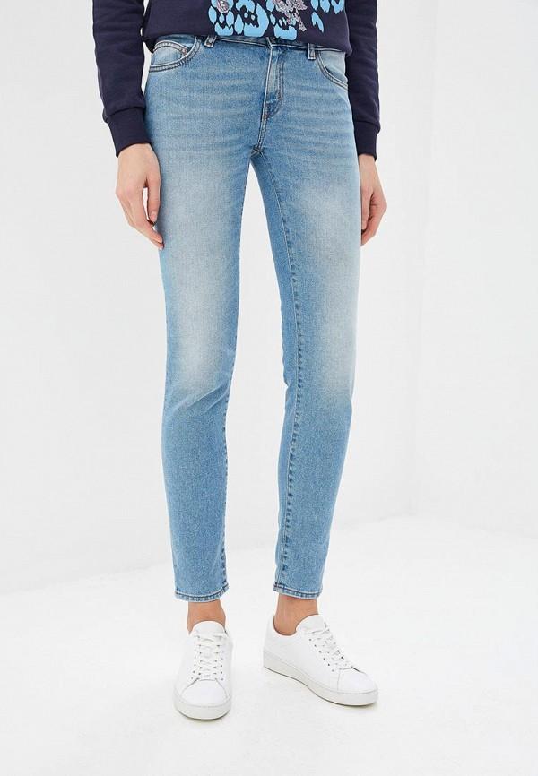 женские джинсы just cavalli, голубые