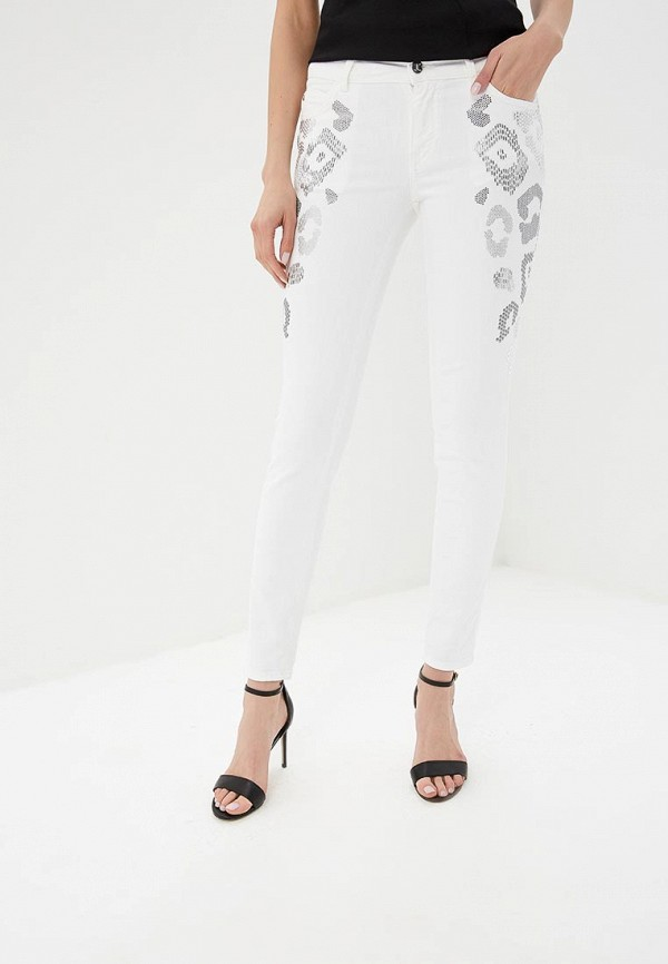 Джинсы Just Cavalli Just Cavalli JU662EWDMOO8 брюки just cavalli белый