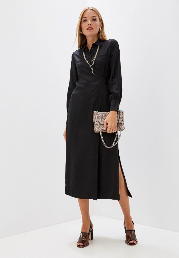 женское платье just cavalli, черное