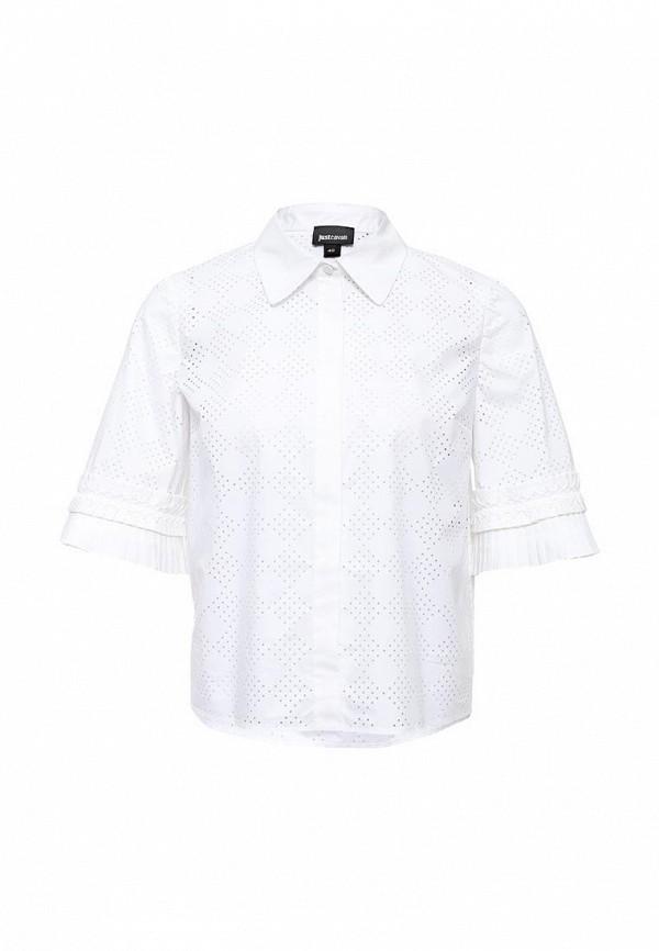 мужская блузка just cavalli, белая