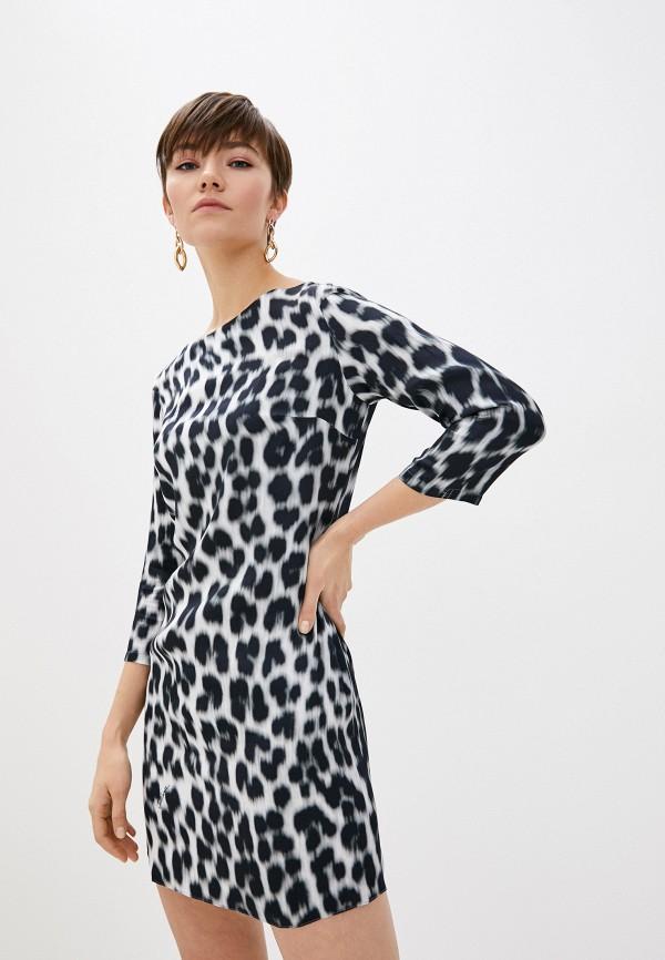 женское повседневные платье just cavalli, серое