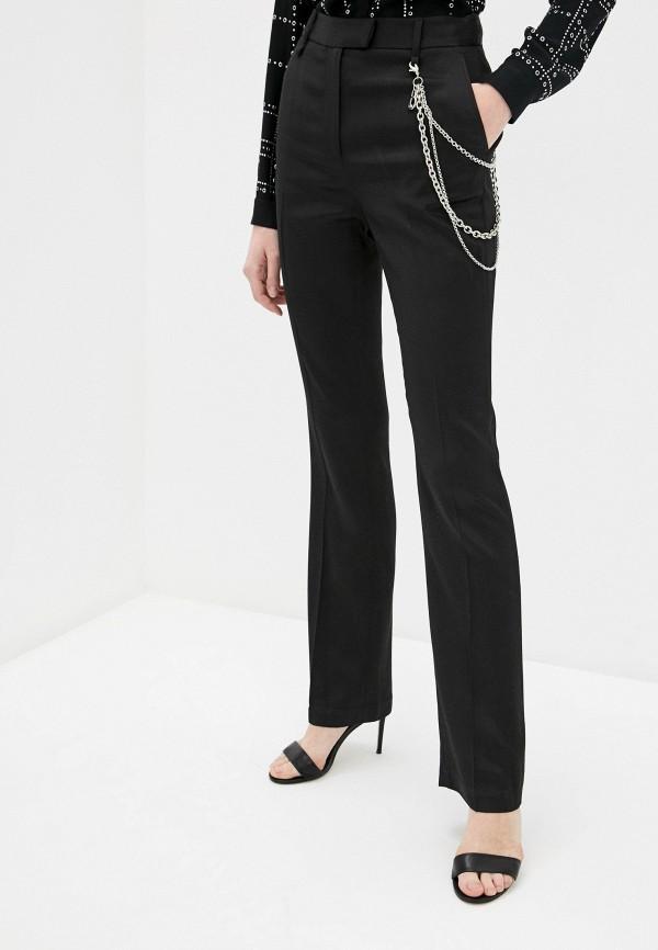 женские повседневные брюки just cavalli, черные