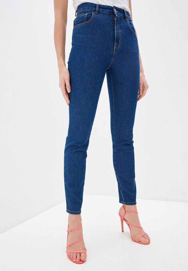 женские джинсы скинни just cavalli, синие