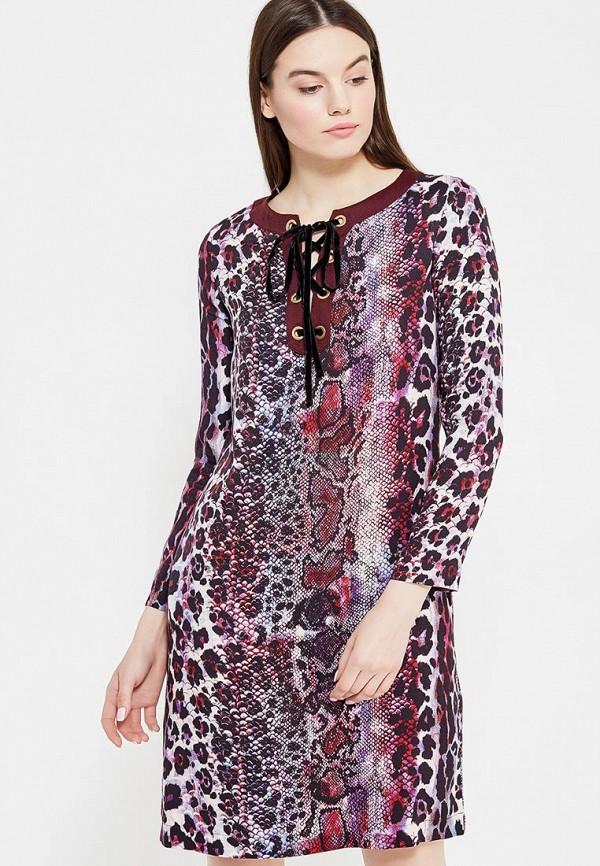 Платье Just Cavalli, ju662ewtza29, бордовый, Осень-зима 2017/2018  - купить со скидкой