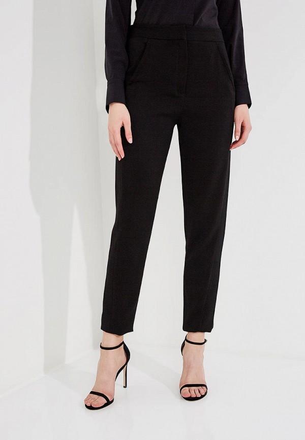 женские классические брюки just cavalli, черные