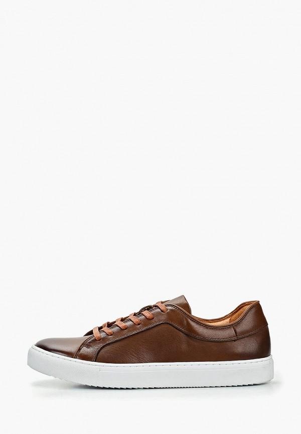 мужские кеды just couture, коричневые