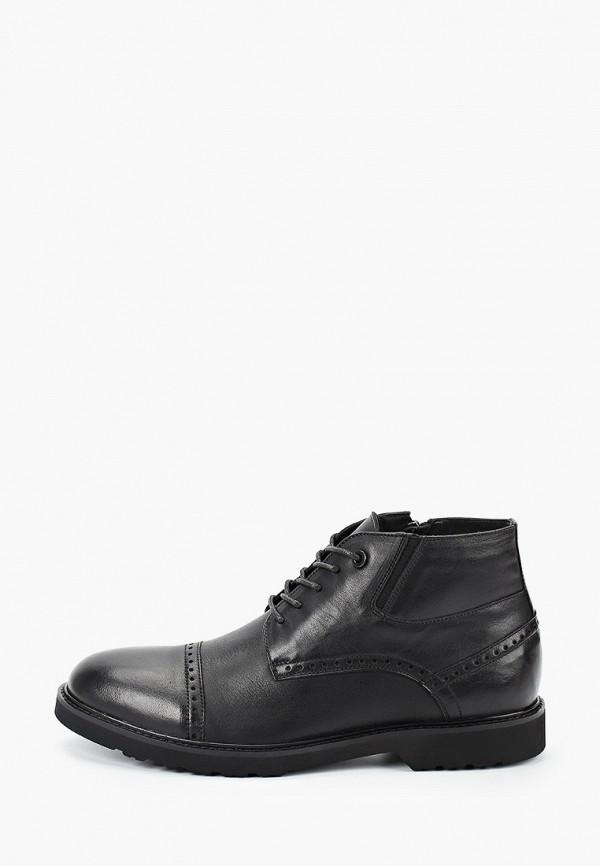 мужские ботинки just couture, черные