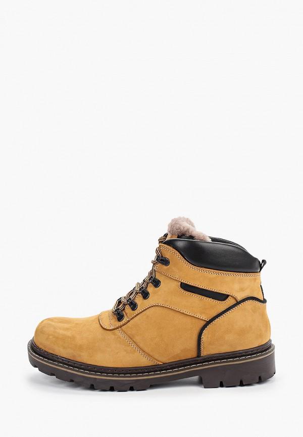 мужские ботинки just couture, желтые