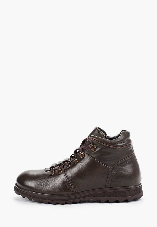 мужские ботинки just couture, коричневые