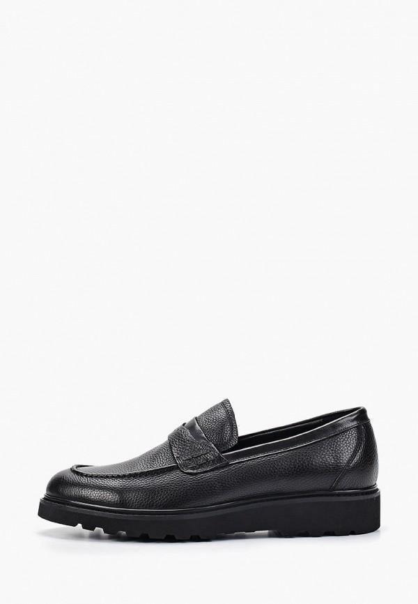 мужские лоферы just couture, черные
