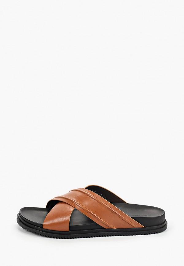 мужские сандалии just couture, коричневые