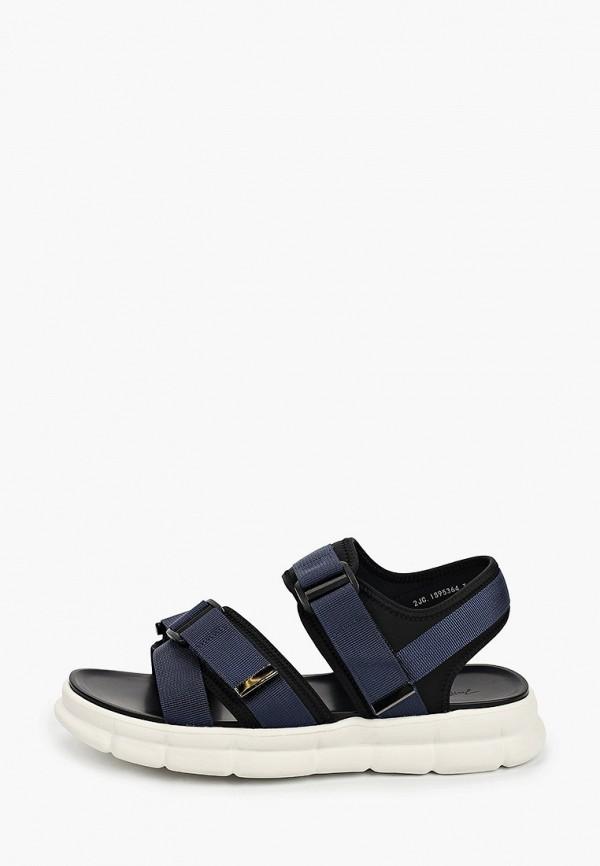 мужские сандалии just couture, синие
