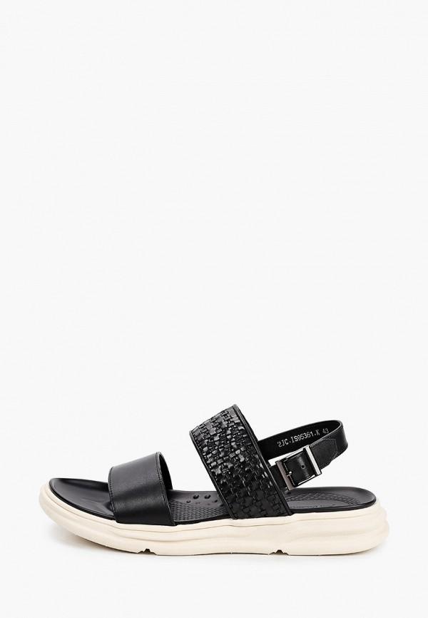 мужские сандалии just couture, черные