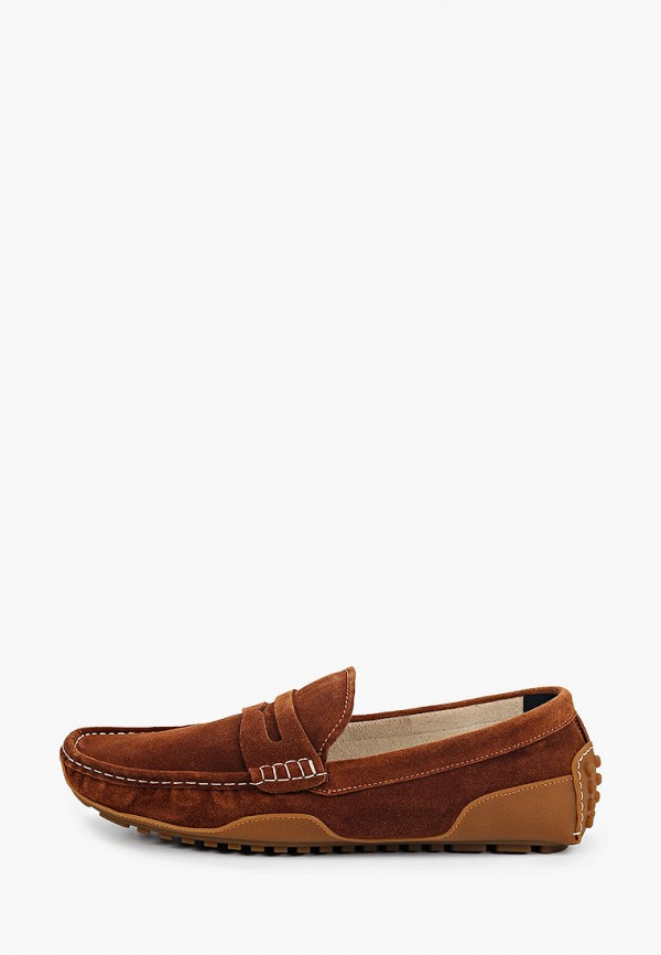 мужские мокасины just couture, коричневые