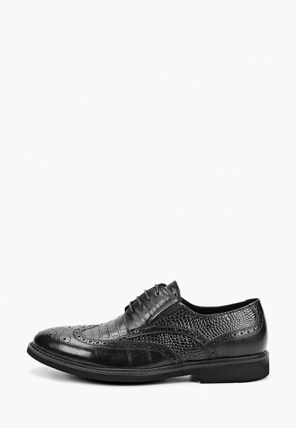 мужские туфли-дерби just couture, черные