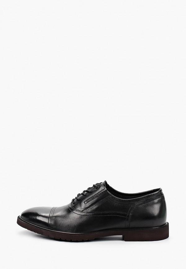 мужские туфли-оксфорды just couture, черные