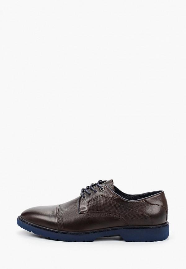 мужские туфли just couture, коричневые