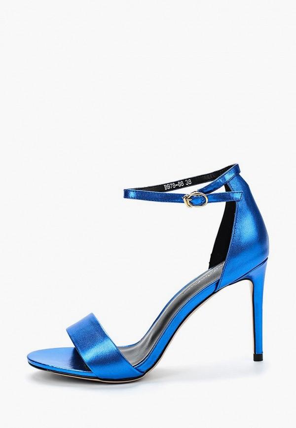 женские босоножки just couture, синие