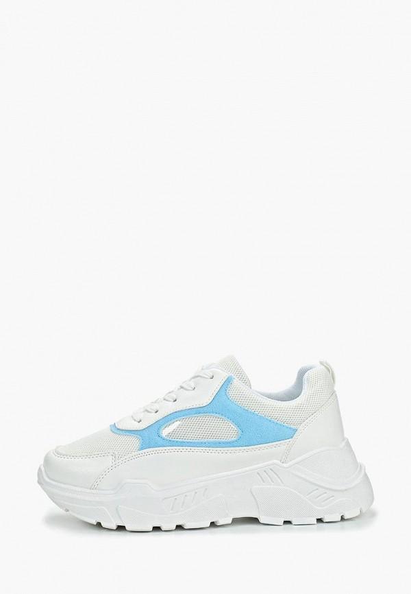 женские кроссовки just couture, белые