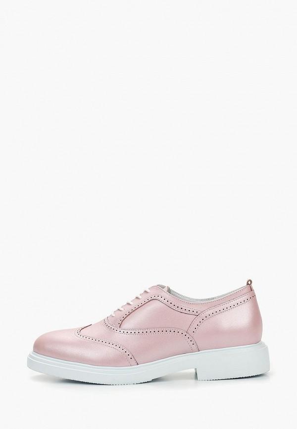 женские ботинки just couture, розовые