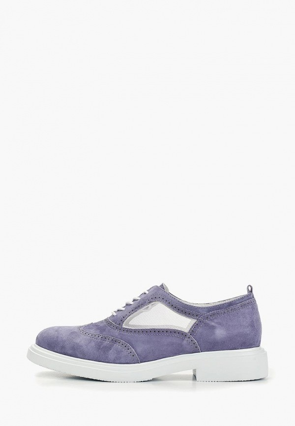 женские ботинки just couture, фиолетовые