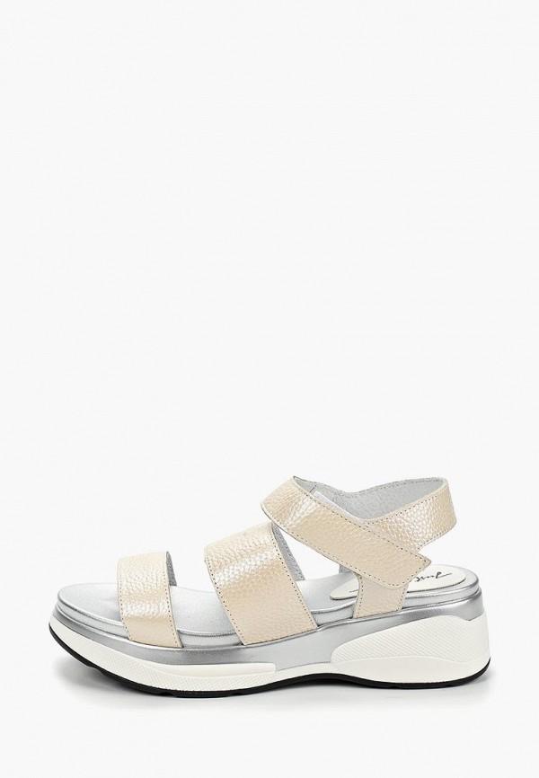 женские сандалии just couture, бежевые