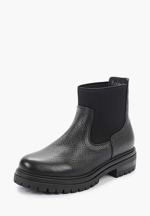 Фото 2 - женские ботинки и полуботинки Just Couture черного цвета