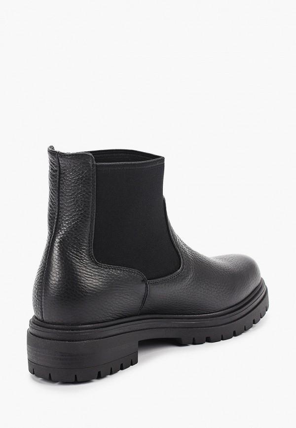 Фото 3 - женские ботинки и полуботинки Just Couture черного цвета