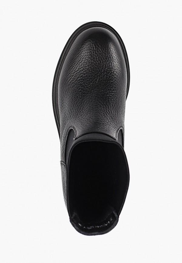 Фото 4 - женские ботинки и полуботинки Just Couture черного цвета