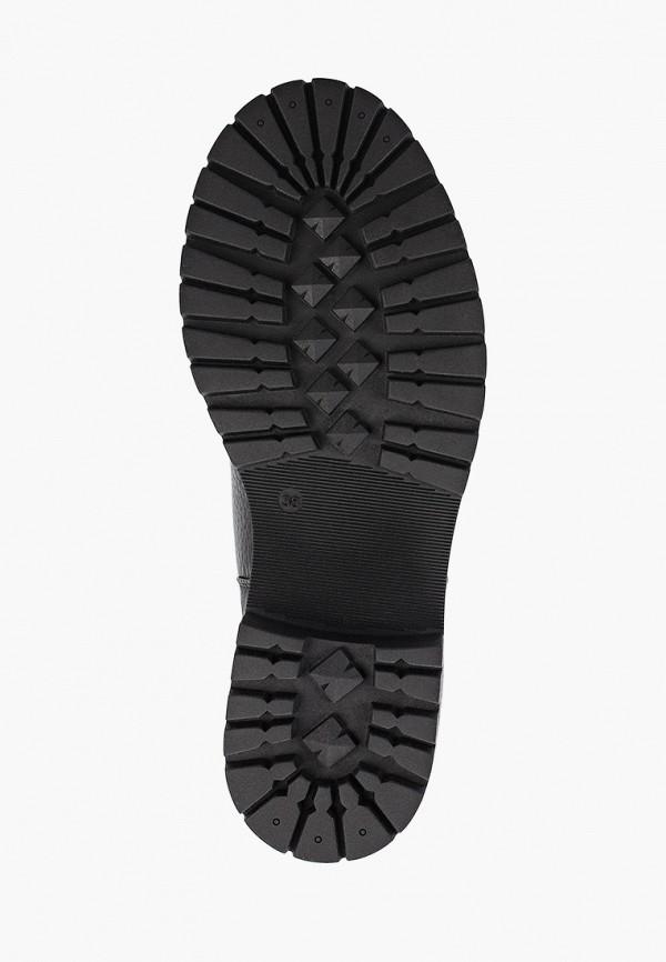 Фото 5 - женские ботинки и полуботинки Just Couture черного цвета