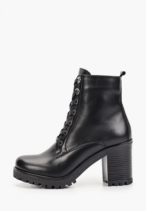 женские ботильоны just couture, черные