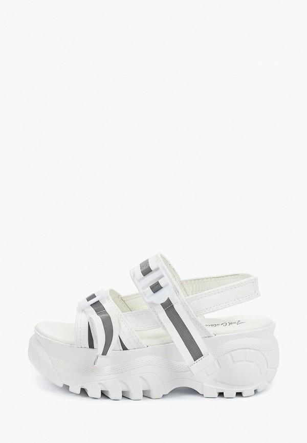 женские сандалии just couture, белые