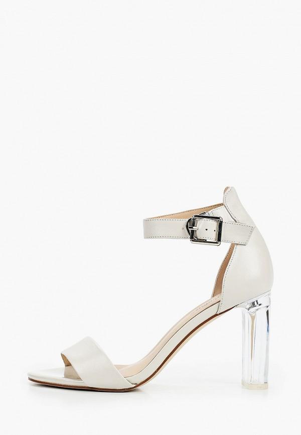 женские босоножки just couture, белые