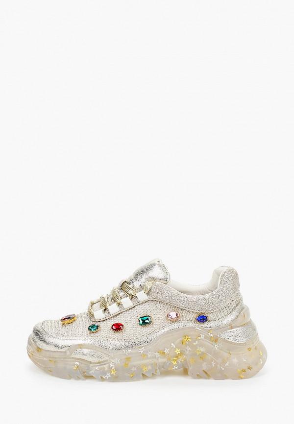 женские кроссовки just couture, золотые