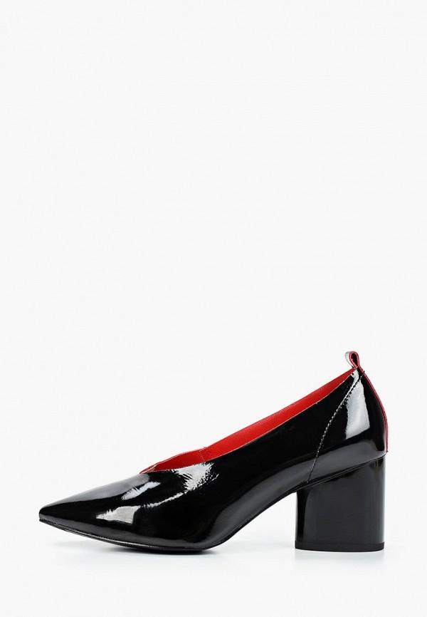 женские туфли с закрытым носом just couture, черные