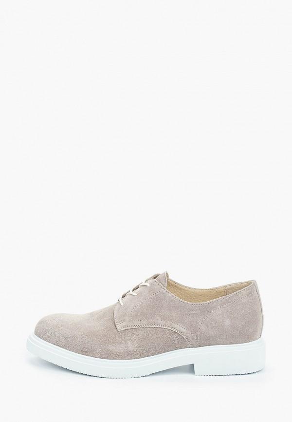 женские ботинки-оксфорды hcs, серые