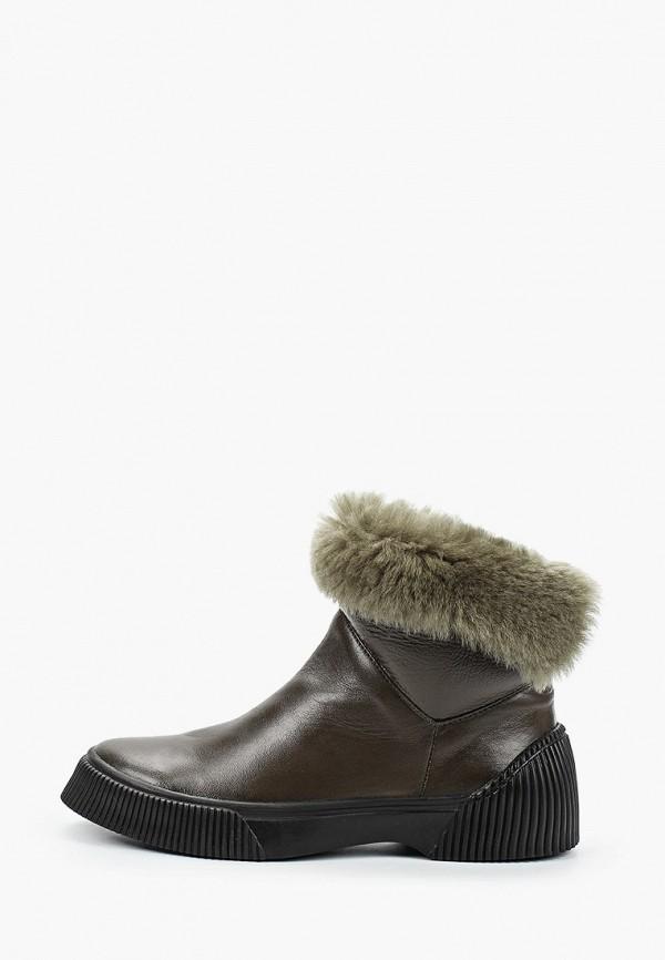 женские ботинки just couture, зеленые