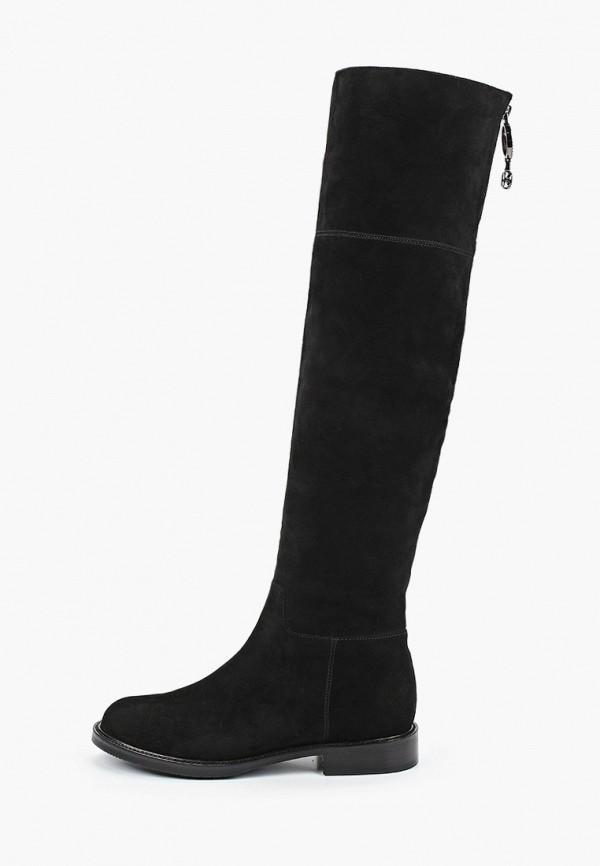 женские ботфорты just couture, черные