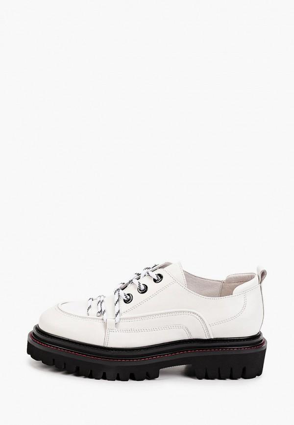 женские низкие ботинки just couture, белые