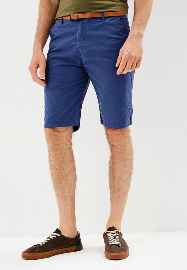 Фото - Мужские шорты Jvz синего цвета