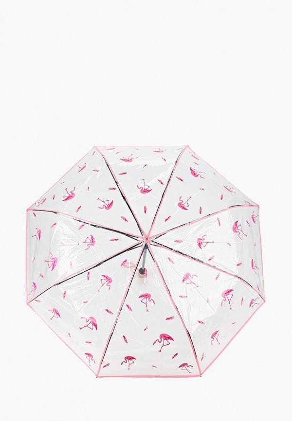 женский зонт kawaii factory, розовый