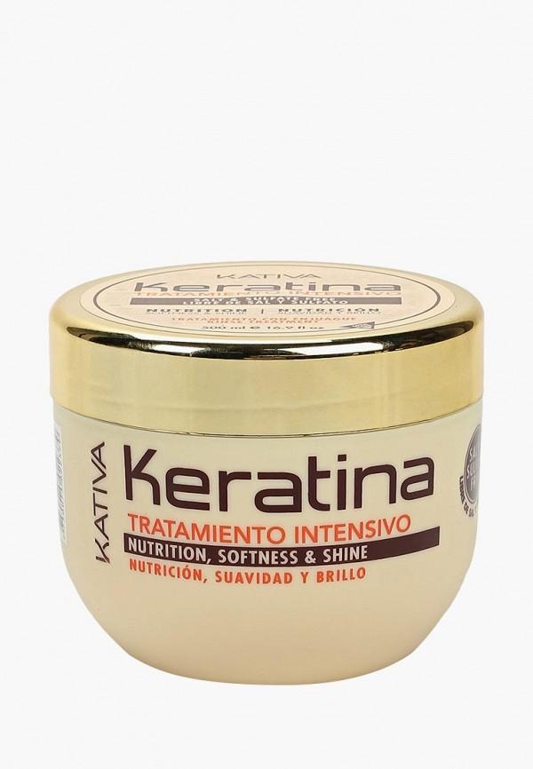 Маска для волос Kativa Kativa KA009LUASG20 набор для выпрямления волос kativa iron free восстановление для волос с секущимися кончиками