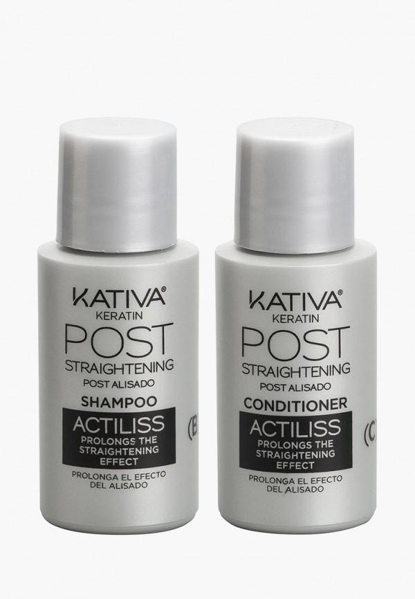 Купить Набор для ухода за волосами Kativa, IRON FREE для выпрямления Уход для тусклых волос, ka009lwcpdk5, прозрачный, Весна-лето 2019