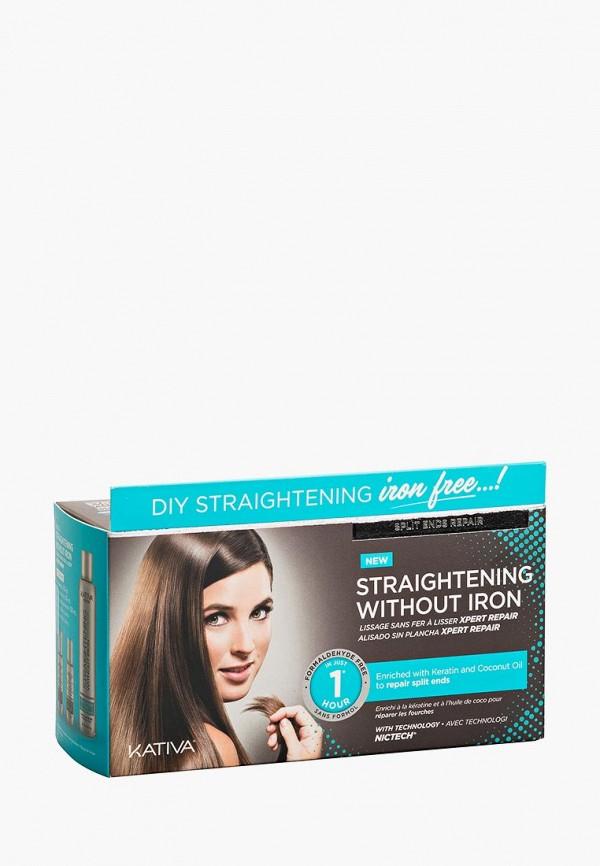 Купить Набор для ухода за волосами Kativa, IRON FREE для выпрямления Восстановление для волос с секущимися кончиками, ka009lwcpdk6, белый, Весна-лето 2019