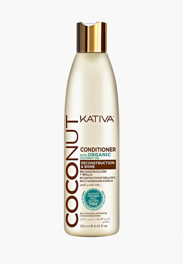 Кондиционер для волос Kativa Kativa KA009LWFVSQ4 кондиционер для волос 1000мл kativa