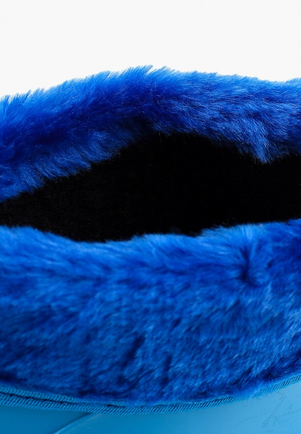 Фото 6 - Резиновые сапоги Каури синего цвета