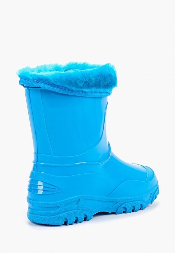 Фото 3 - Резиновые сапоги Каури синего цвета