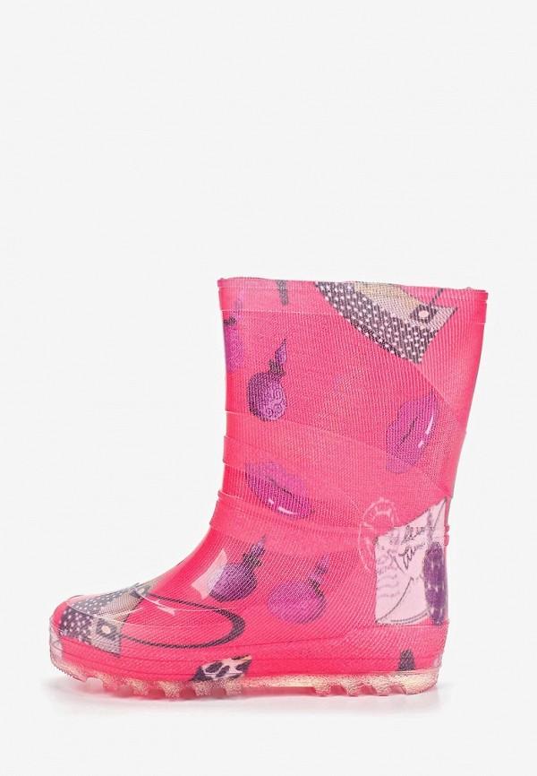 сапоги каури для девочки, розовые